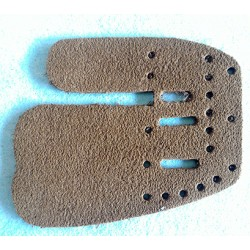 Fivics leather finger tab backing replacement for Saker 2