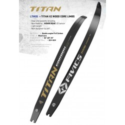 Fivics Titan X2 Wood Core Limbs