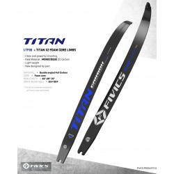 Fivics Titan X2 Foam Core Limbs
