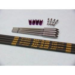 Set 4 frecce Fivics XQ-3.15
