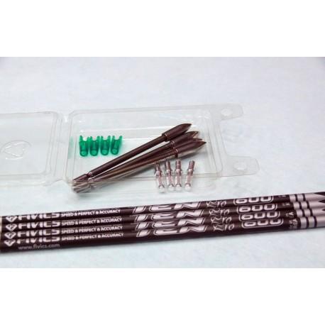 .Set 4 frecce Fivics Ten Pro