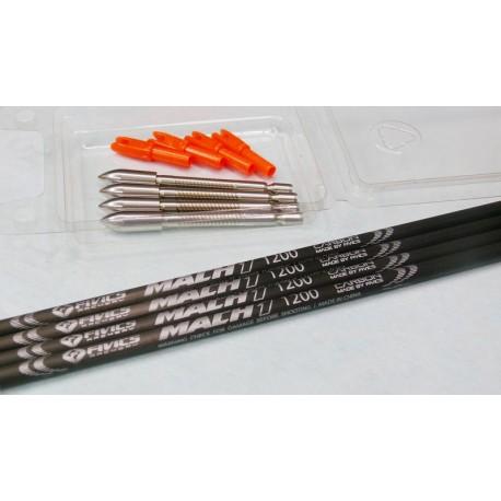.Set 4 frecce Fivics Mach1