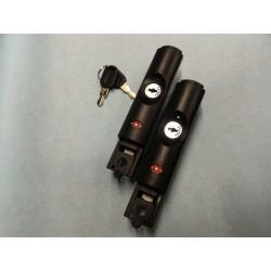 Couple of locks for Aegis Rigida Fivics Suitcase