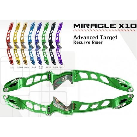SANLIDA Miracle X10 Target Recurve Riser