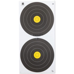 AVALON Target Field Face AVALON Targa H/F 40- 2-SPOT STANDARD CENTRE VERTICAL 6-RINGS