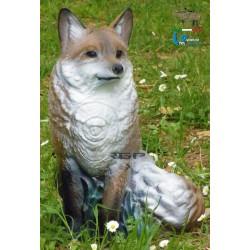 Sitting Fox 2D Target