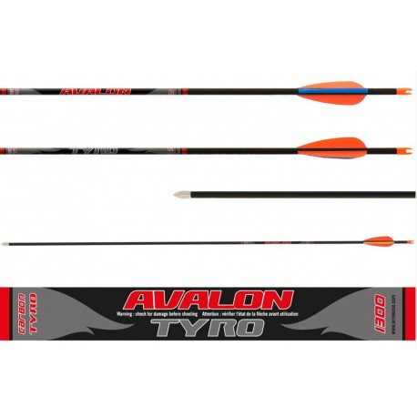 Tyro Arrows (1 doz.) included points, nocks and vanes