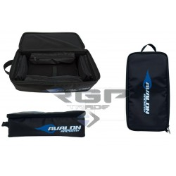 AVALON CASES FOR ACC. AND SIGHTS SEMI-RIGID WITH 4 INSIDE POCKETS AND CARIER BLACK