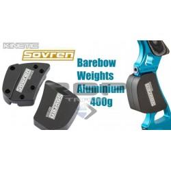 SOVREN BAREBOW WEIGHTS ALUMINUM 400GRAMS
