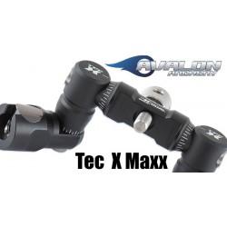 TEC X PRO - ADJUSTABLE V-BAR MOUNT 5/16 BLACK