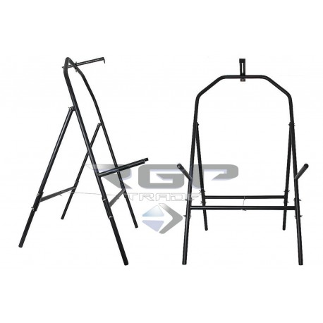 AVALON TARGET STAND METAL SMALL H113XW50XD30CM - 4 LEGS - 60CM TARGET