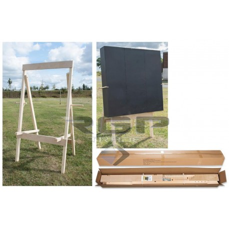 AVALON TARGET STAND DELUXE FULLY ADJUSTABLE - PINE WOOD
