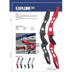 """WNS Explore DX Recurve Riser - 25"""""""
